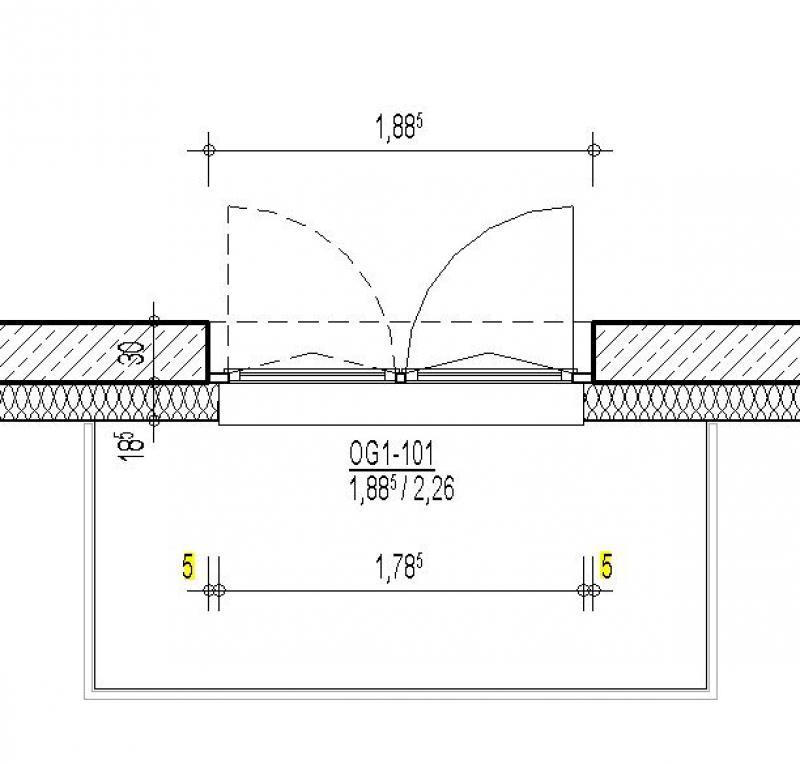 Gut bekannt BIMpedia: Tür: Balkon SA65