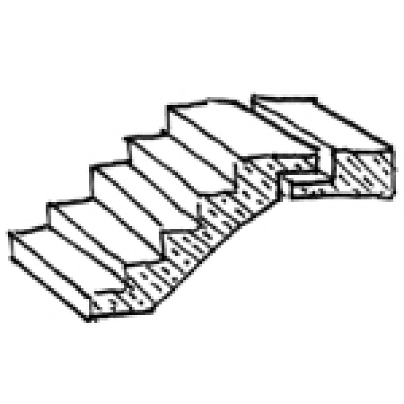 Bimpedia Treppe Beton Fertigteil