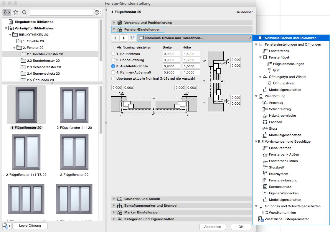 Extrem BIMpedia: Fenster OK59