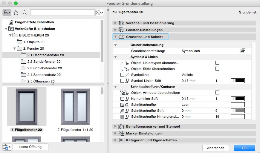 Turbo BIMpedia: Fenster SA98